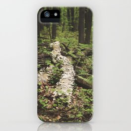 Mushroom Logged iPhone Case