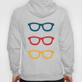 Colorful Smart Glasses Pattern Hoody