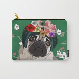 Frida-Pug Carry-All Pouch