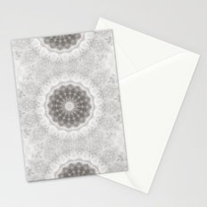 Silver and lace... Stationery Cards