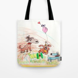 :: Underdogs Party-on-the-Lawn :: Tote Bag