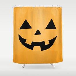 Happy Jack-O-Lantern Shower Curtain