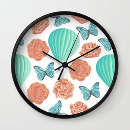 Fly Away With Me Wall Clock