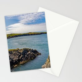 St Justinian's Bay, Pembrokeshire, Wales Stationery Cards
