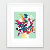 blush Framed Art Prints featuring Blush by Picomodi