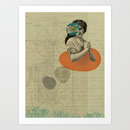 All the subtractions Art Print