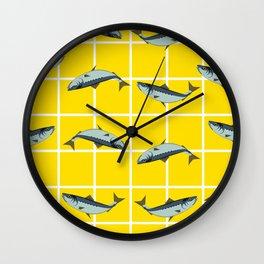 Ice Cream Sardines #2 Wall Clock