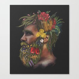 One With Nature  Canvas Print