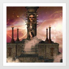 The  Totem place Art Print