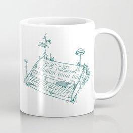 Organic Synth // ARP Odyssey - Green Coffee Mug