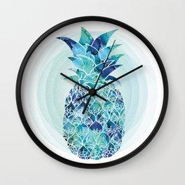 Pineapple Dream Wall Clock