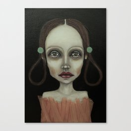 point girl Canvas Print