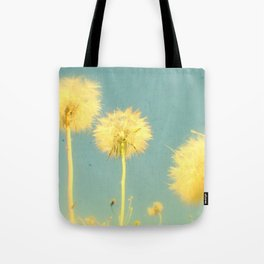 Summer Dandelions #2 Tote Bag