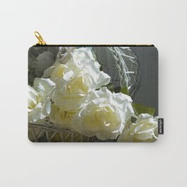 Roses in the White Light Carry-All Pouch