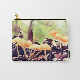 Toadstools in the Rain Carry-All Pouch