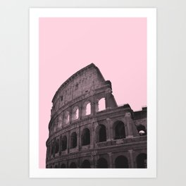 Millennial Colosseum Art Print