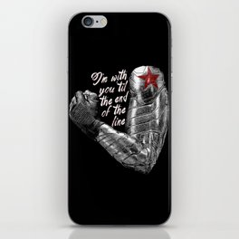 'Til the End of the Line iPhone Skin