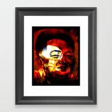Li'l Kim Framed Art Print