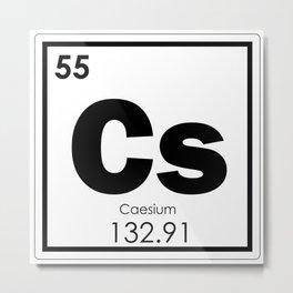 Caesium Metal Print