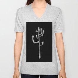 stick cactus Unisex V-Neck