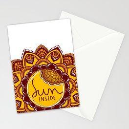 Sun Inside Stationery Cards
