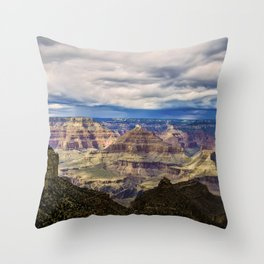 South Rim - HDR Photograph Throw Pillow