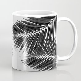Palm Leaf Black & White II Coffee Mug