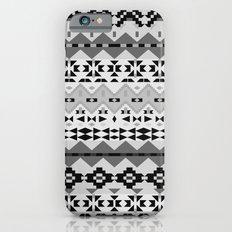 Black And White Aztec Slim Case iPhone 6