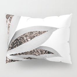 Agave Finesse Glitter Glam #1 #tropical #decor #art #society6 Pillow Sham