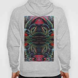 SURREAL DESERT AGAVE & BLUE DRAGONFLIES REFLECTIONS Hoody