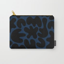 Blob Collage - Navy Carry-All Pouch