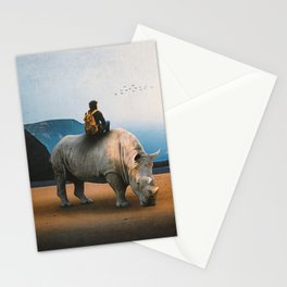Looking Nowhere Stationery Cards
