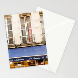 Paris Boulangerie Stationery Cards