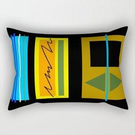 Counterparts III Rectangular Pillow