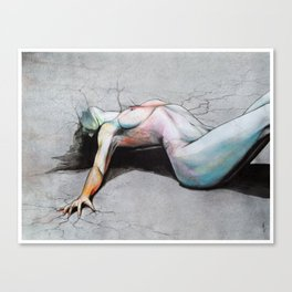 Let it die / Become yourself Canvas Print