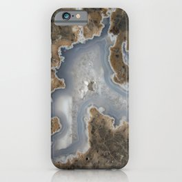 Abstract Rhyolite & Agate iPhone Case