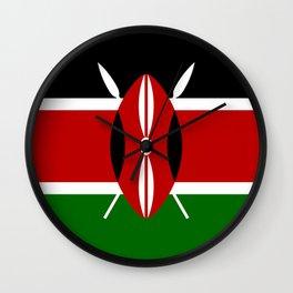 Flag: Kenya Wall Clock