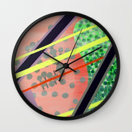 1980's Hangover Wall Clock