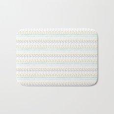 Line Dot Line Triangle Bath Mat