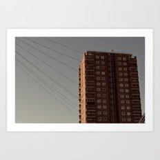 The Towers Art Print