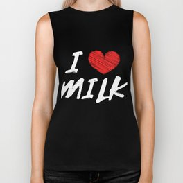 Have been a fan of milk ever since? Here's a the perfect tee for you and your friends! Grab it now! Biker Tank