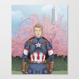 Oh Captain! My Captain! Canvas Print