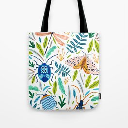 Bugs Pattern Tote Bag