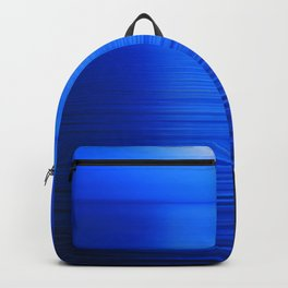 Sunset on the Water-Deep Blue Backpack