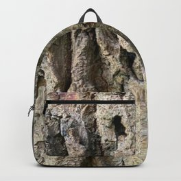 Tree Grooves, photography Backpack
