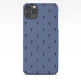 JoJo - Bruno Bucciarati Pattern [Blue Ver.] iPhone Case