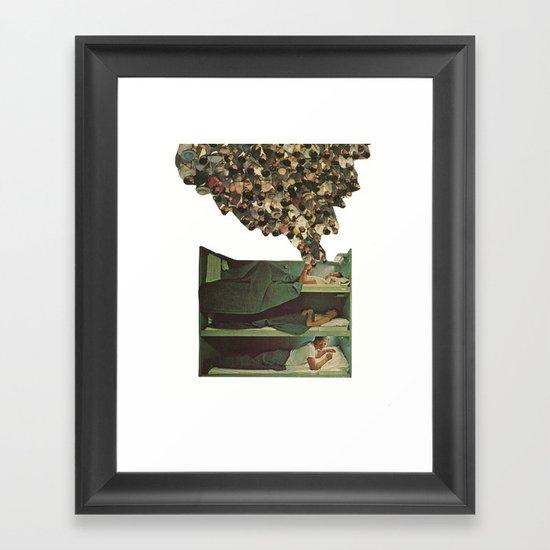 top bunk Framed Art Print