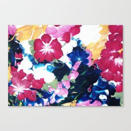 Colour memories Canvas Print