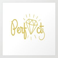diamond Art Prints featuring Diamond by haroulita