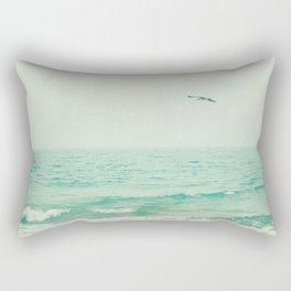 Lone Bird Rectangular Pillow